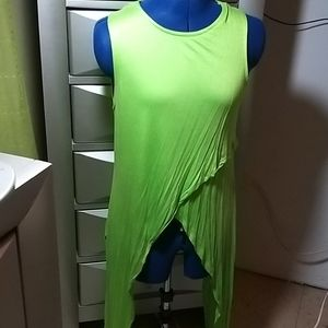 Tops - 💥2X$14💥Green Asymetrical Tee. FITS SIZE M